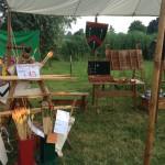 Kasteelschutters HISTORIE-KS Longbowman Handboogschieten Kasteel Doornenburg Middeleeuwen middeleeuwse workshop school educatie kinderfeestje bedrijfsfeest bedrijfsuitje Brederode Luifel 1