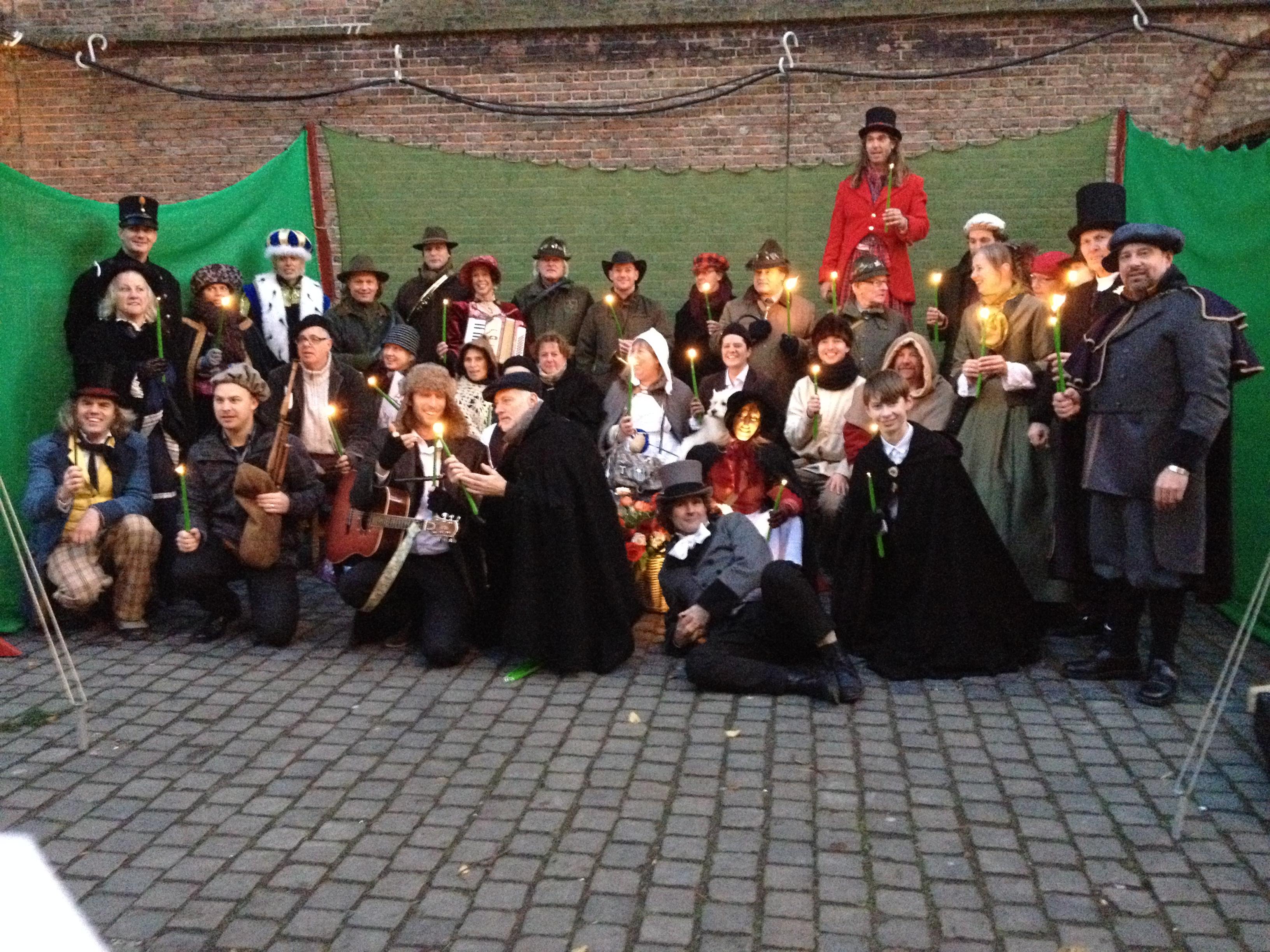 Kasteelschutters Huurling.nu Longbowman LS-Talent Handboogschieten Schietbaan Boogschieten Koning Winter Charles Dickens Evenementen Festival Braderie