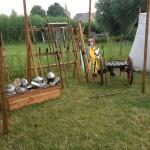Kasteelschutters HISTORIE-KS Longbowman Handboogschieten Kasteel Doornenburg Middeleeuwen middeleeuwse workshop school educatie kinderfeestje bedrijfsfeest bedrijfsuitje Brederode Luifel 3