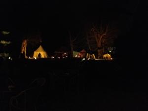 Kasteelschutters Huurling.nu Longbowman Compagnie van Brederode Handboogschieten Workshops Evenement Heemskerk Middeleeuwen Kamp in donker